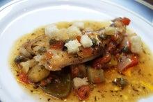 食べて飲んで観て読んだコト+レストラン・カザマ-真カスベのムニエル