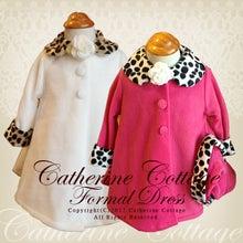 子供ドレスのキャサリンコテージ商品紹介ブログ♪-ベビー 帽子付きファー襟袖コート
