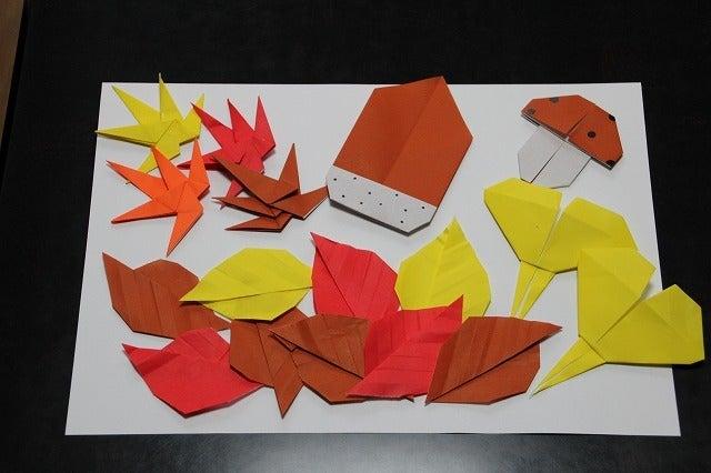 簡単 折り紙 秋の折り紙折り方 : ameblo.jp