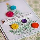 [無料ダウンロード] ボタンを貼るだけ!クリスマスカードをハンドメイド♪
