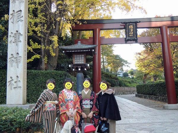 $東京で着物ライフを楽しむ会 ~東京きものライフ~-根津神社に行ってきました!