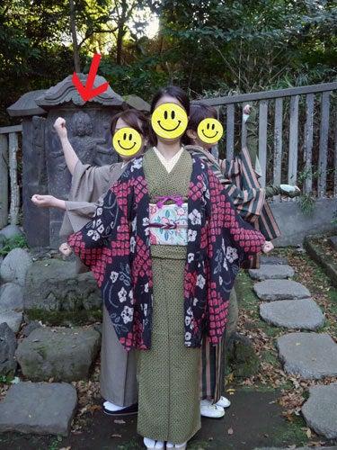 東京で着物ライフを楽しむ会 ~東京きものライフ~-根津神社散策(2)
