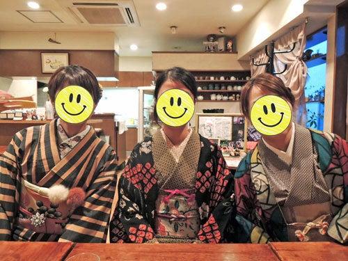東京で着物ライフを楽しむ会 ~東京きものライフ~-根津のカフェにて(2)