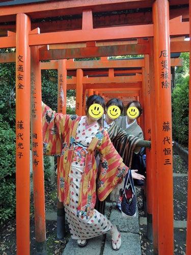 東京で着物ライフを楽しむ会 ~東京きものライフ~-根津神社散策(1)