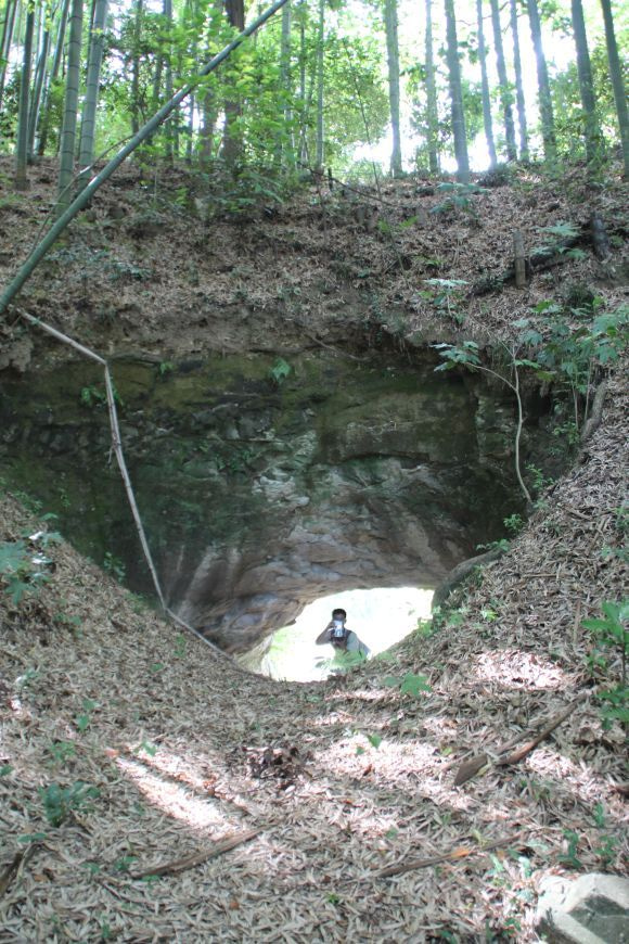 道にあるちょっと古いもの-(仮称)諏訪隧道