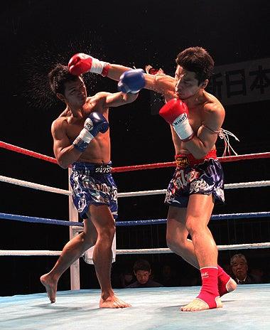 新日本キックボクシング協会-拳士朗vsムンファン