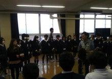 エマ美容室の[チョキ×チョキ日記]-北河田小学校にて