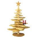 ステキなクリスマスインテリアを演出♪デコア 木製クリスマスツリーナチュラル