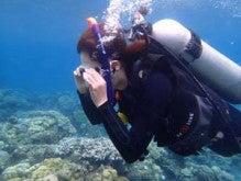 バリ島 くらげのjalan-jalan-水が怖い2