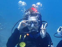バリ島 くらげのjalan-jalan-水が怖い3