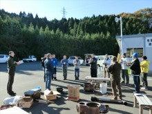 浄土宗災害復興福島事務所のブログ-20121127上荒川近江米配布芋煮会⑬