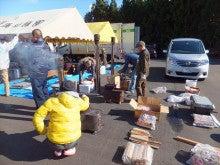 浄土宗災害復興福島事務所のブログ-20121127上荒川近江米配布芋煮会⑦