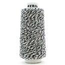 アヴリル ミニコーン コットンツイスト ブラック 【AVRIL】【毛糸】【アブリル】【アヴリルの糸】【シュシュ・ゆび編みにオススメの糸】