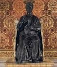 夫婦世界旅行-妻編-ペトロの像