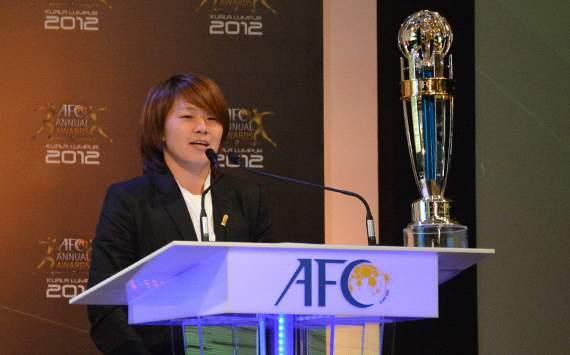宮間あや AFC年間最優秀プレーヤー バロンドール サッカー日本代表