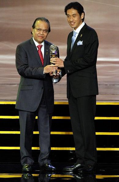 西村雄一 AFC年間最優秀プレーヤー バロンドール サッカー日本代表