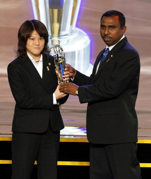 柴田華絵 AFC年間最優秀プレーヤー バロンドール サッカー日本代表