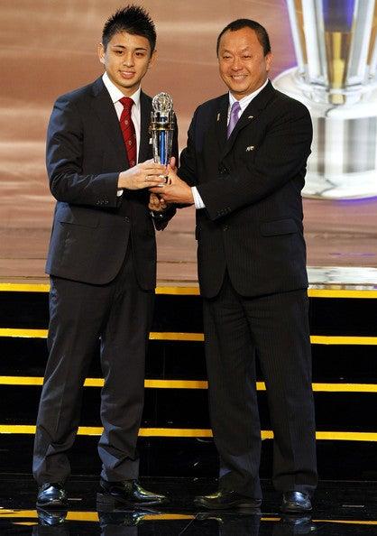 逸見勝利ラファエル AFC年間最優秀プレーヤー バロンドール サッカー日本代表