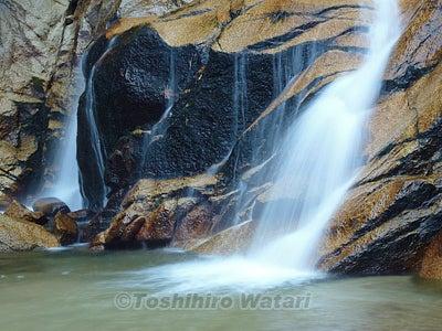 滝を撮影する