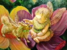 ペットと飼い主さんの肖像画家Erico(エリコ)の動物油絵館-チワワと赤ちゃん