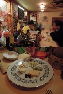 旅行、グルメ巡礼-カプセルとチーズ盛り