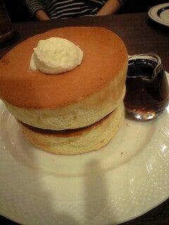 「ひろんぐー」の つぶやき @千葉県-窯焼きスフレパンケーキ