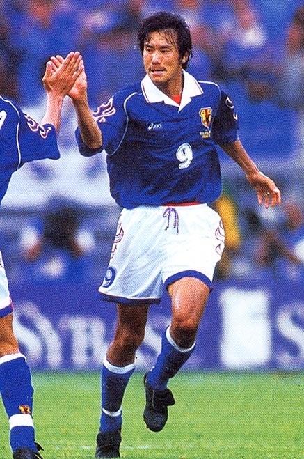 中山雅史 フランスワールドカップ 日本代表