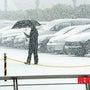 ソウル初雪
