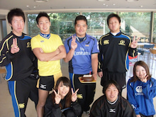 $SUNDAI RUGBY MANAGER BLOG-ケントBirthday1