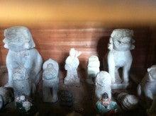 こまいぬ日記-加戸神社・お堂の中