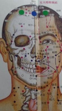 今日の一穴は、胆経の頭臨泣穴を紹介します。