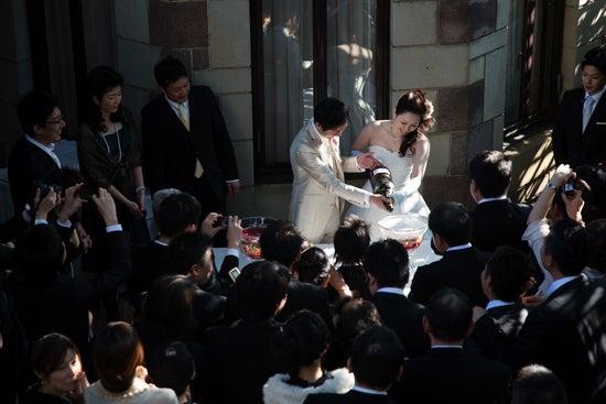 ウエディングカメラマンの裏話*結婚式にまつわるアンなことコンなこと-ミュージアム1999ロアラブッシュ 結婚式 写真