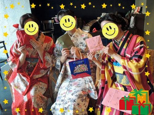 東京で着物ライフを楽しむ会 ~東京きものライフ~-ゆかさん、雪ん子さん、まり絵さん
