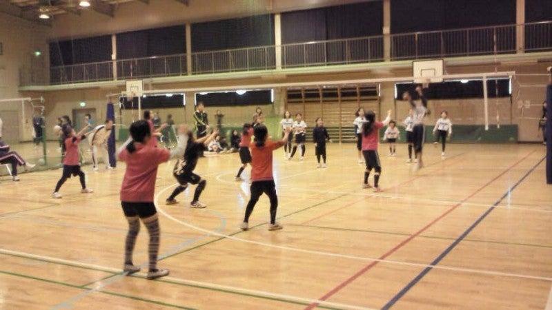 キャッチバレーボール 開進ブロック行事案内-育成合同練習