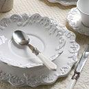 Trianon blanc スープ・プレート COTE TABLE 【フランス・フレンチカントリー・輸入洋食器】