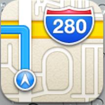 iOS6標準マップ …