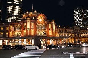 埼玉おもしろマップ-東京駅ライトアップ