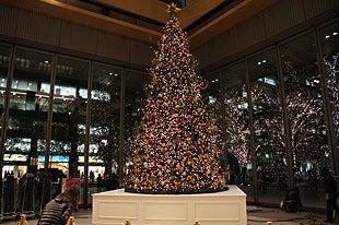 埼玉おもしろマップ-丸ビルのクリスマスツリー