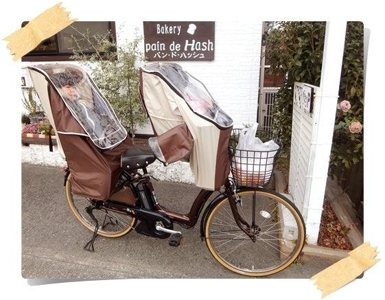 自転車の 自転車 前乗せ 防寒 手作り : 1位!★子供乗せ自転車の防寒 ...
