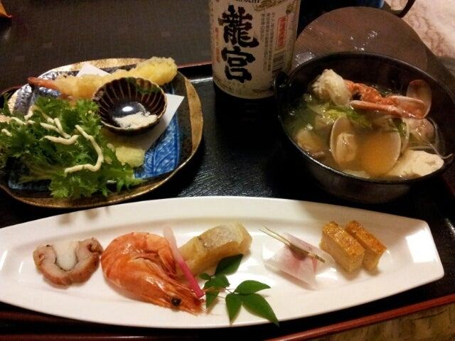 歩き人ふみの徒歩世界旅行 日本・台湾編-ある日の晩飯