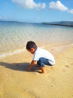 西表島ダイビング あべちゃん海ブログ  「にこにこダイビング」-和真と海へ~