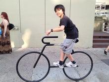 $hyangのひとりごと...-自転車置き場のマーク