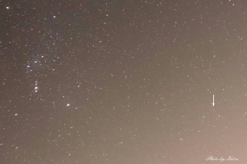 癒しの空間 鹿行星の会 会長ブログ-赤い光