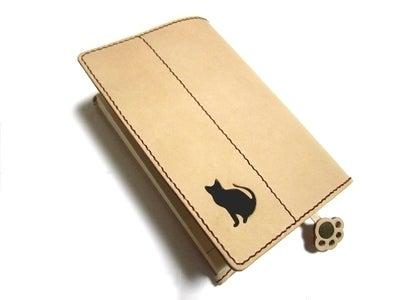 OXIO-CRAFT(オキクラ)の「革雑貨」制作日記-ブックカバー