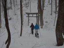 落倉フィールド日記-今シーズン最初のスノーシュー