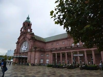 ヴィースバーデン駅1