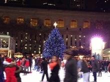 N.Y.に恋して☆-Briant Park Christmas 1