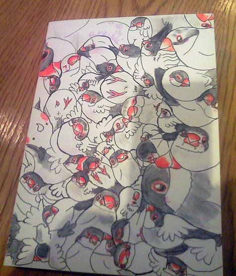 ようこそ!とりみカフェ!!~鳥カフェでの出来事や鳥写真~-鳥まみれ組み絵ー文鳥いっぱい!ー