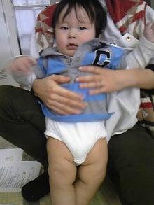 YUTORI (ゆとり)のおうち@ベビーマッサージ-敢太くん 7ヶ月