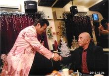 田山ひろし東京後援会のブログ-握手する田山ひろしさん